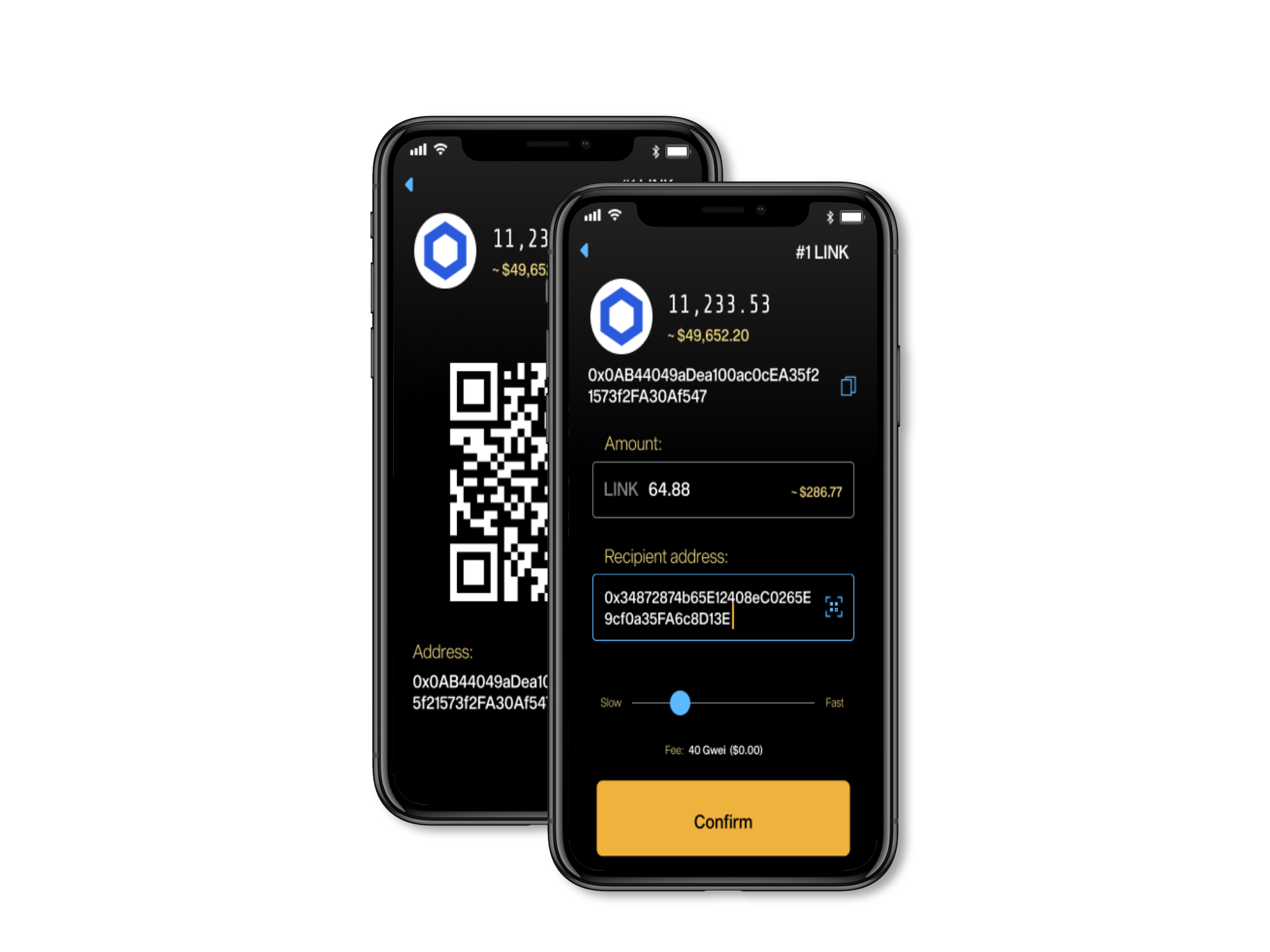 NGRAVE LIQUID mobile app, QR codes, Chainlink, NGRAVE cryptocurrency hardware wallet. Ledger Nano, Trezor one Trezor model T.