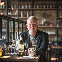 Dick van Gerwen of Bistroo merchant Liberty Foodbar in Bladel