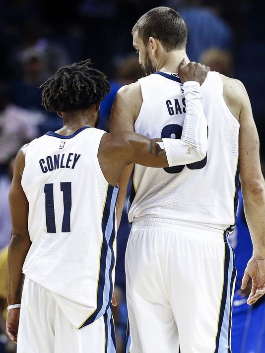 Memphis Grizzlies Realistic Rebuild Trading Marc Gasol Mike Conley By Avery Price Full Court Press Medium