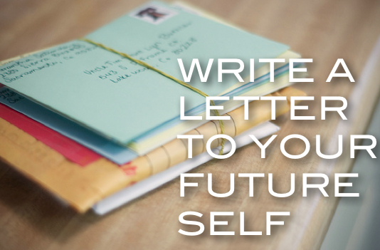how to write a letter to someone in the future