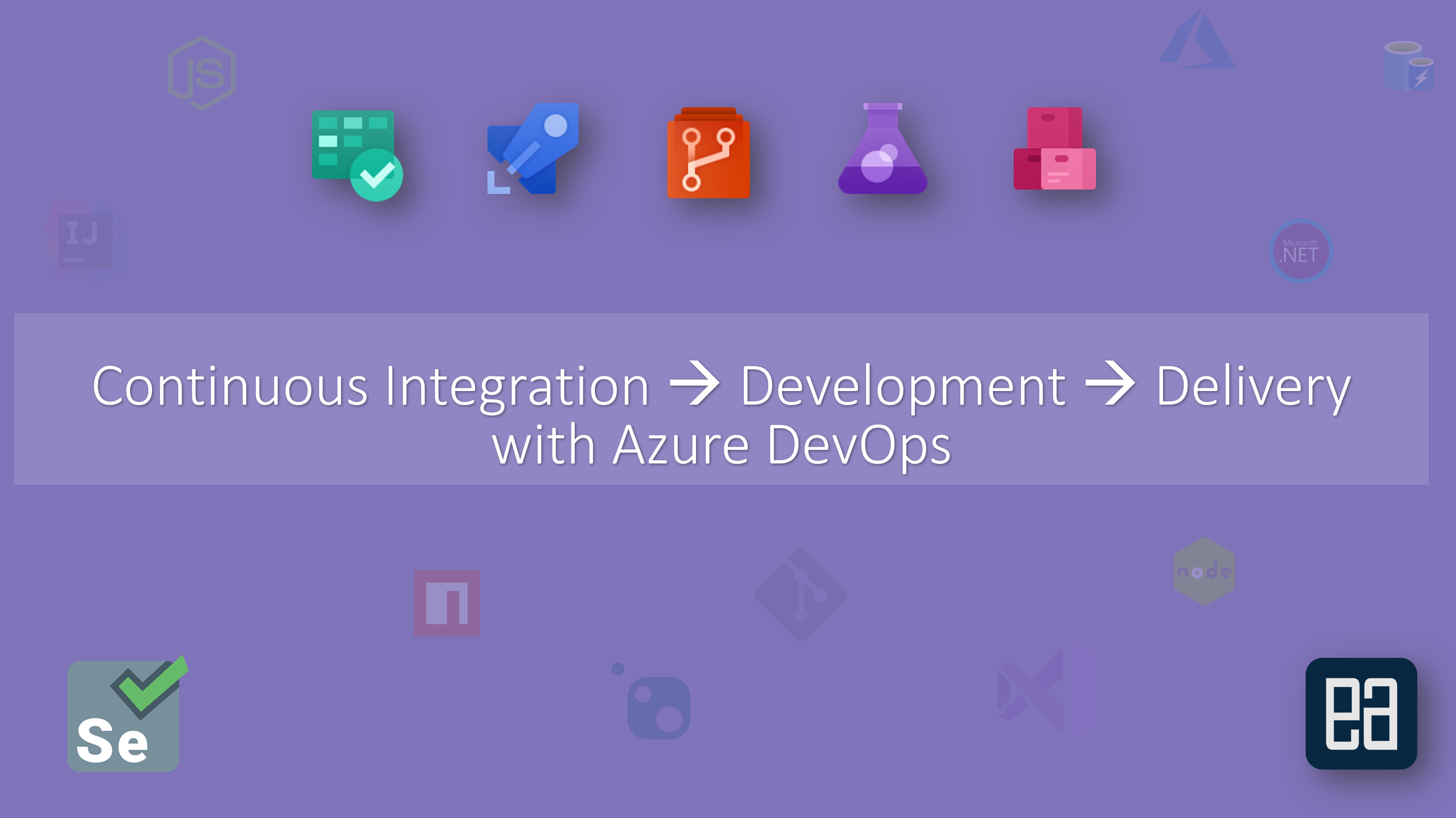 CI/CD with Azure DevOps Service 2019 - ExecuteAutomation