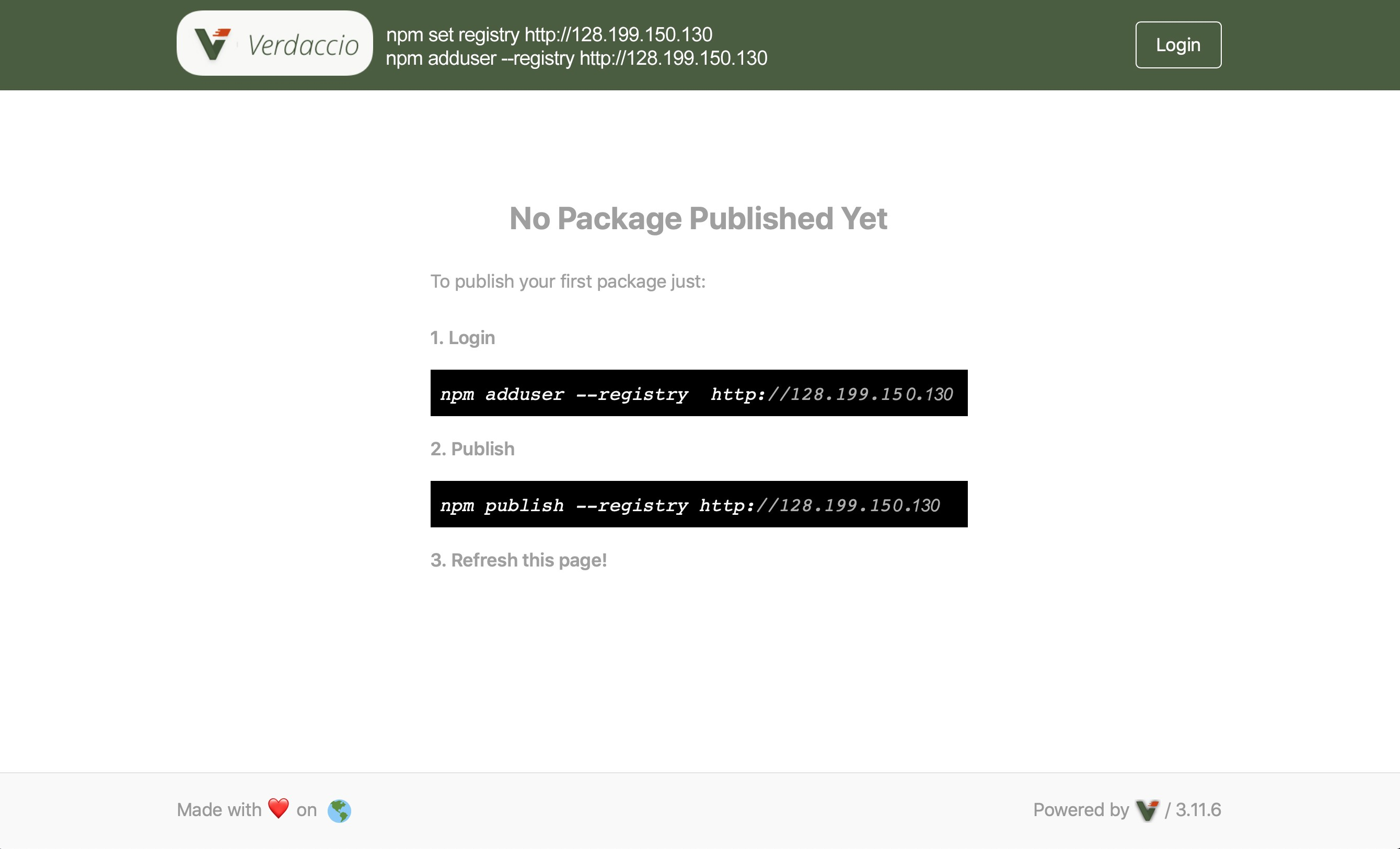 Publish Private NPM Packages with Proxy Registry Verdaccio