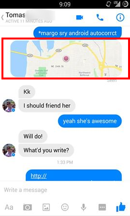 Stalking Your Friends with Facebook Messenger - Faith and