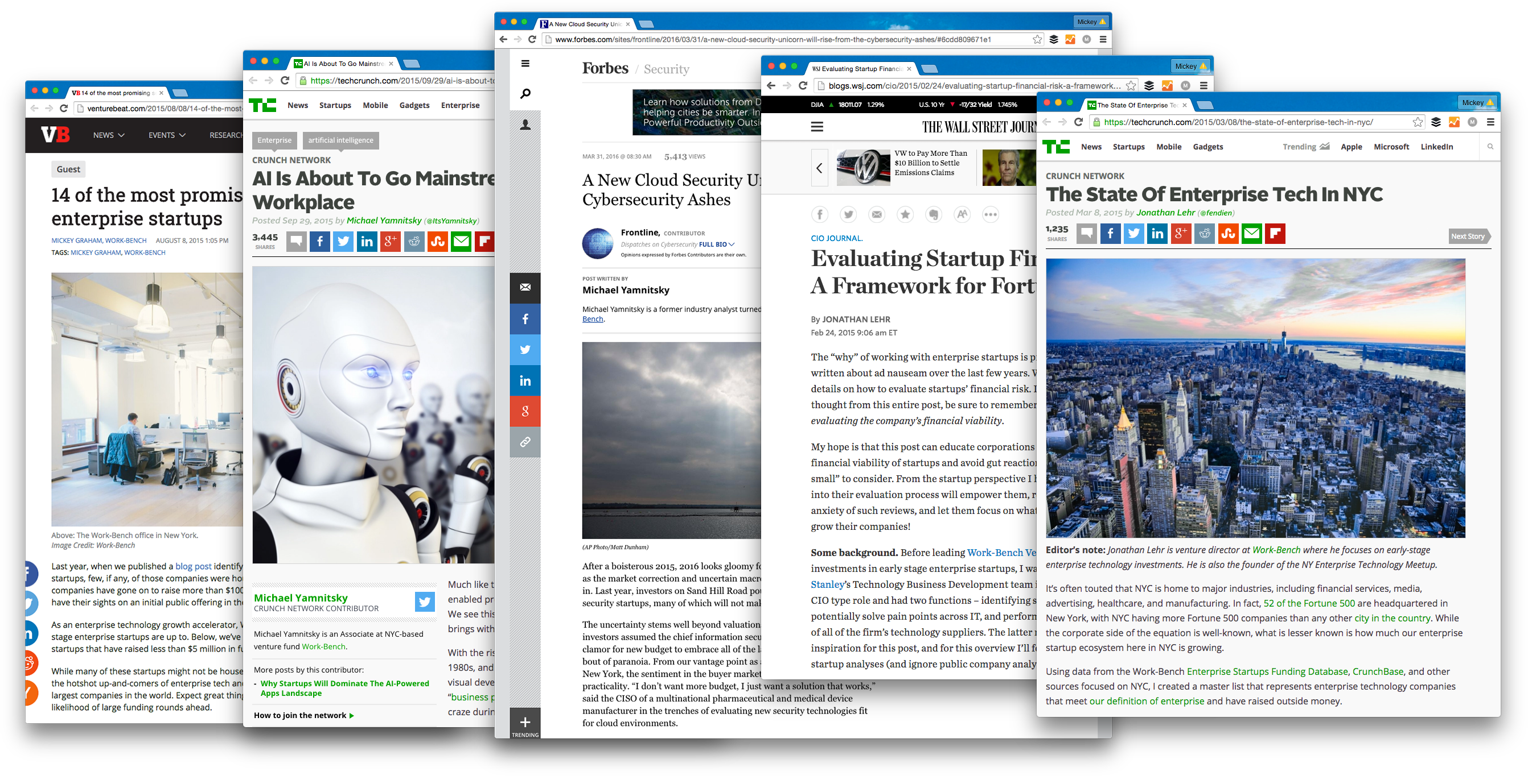 How We Landed Guest Posts on TechCrunch, Forbes, The Wall