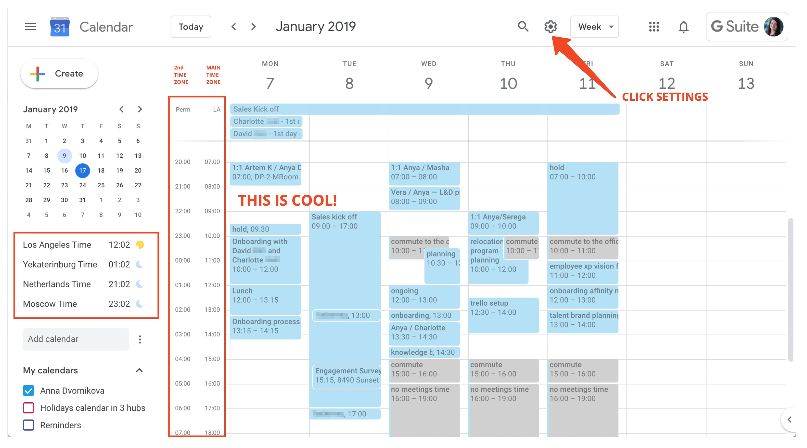 3 Simple Google Calendar Settings That Help Distributed Teamwork By Anya Dvornikova Medium