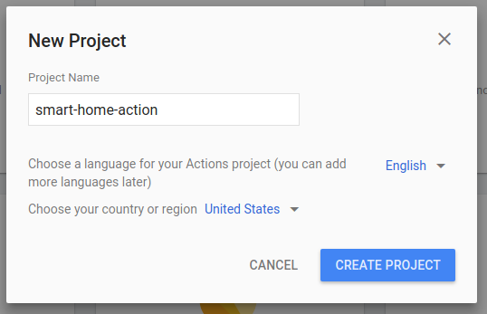 Authenticating smart home Actions for the Google Assistant