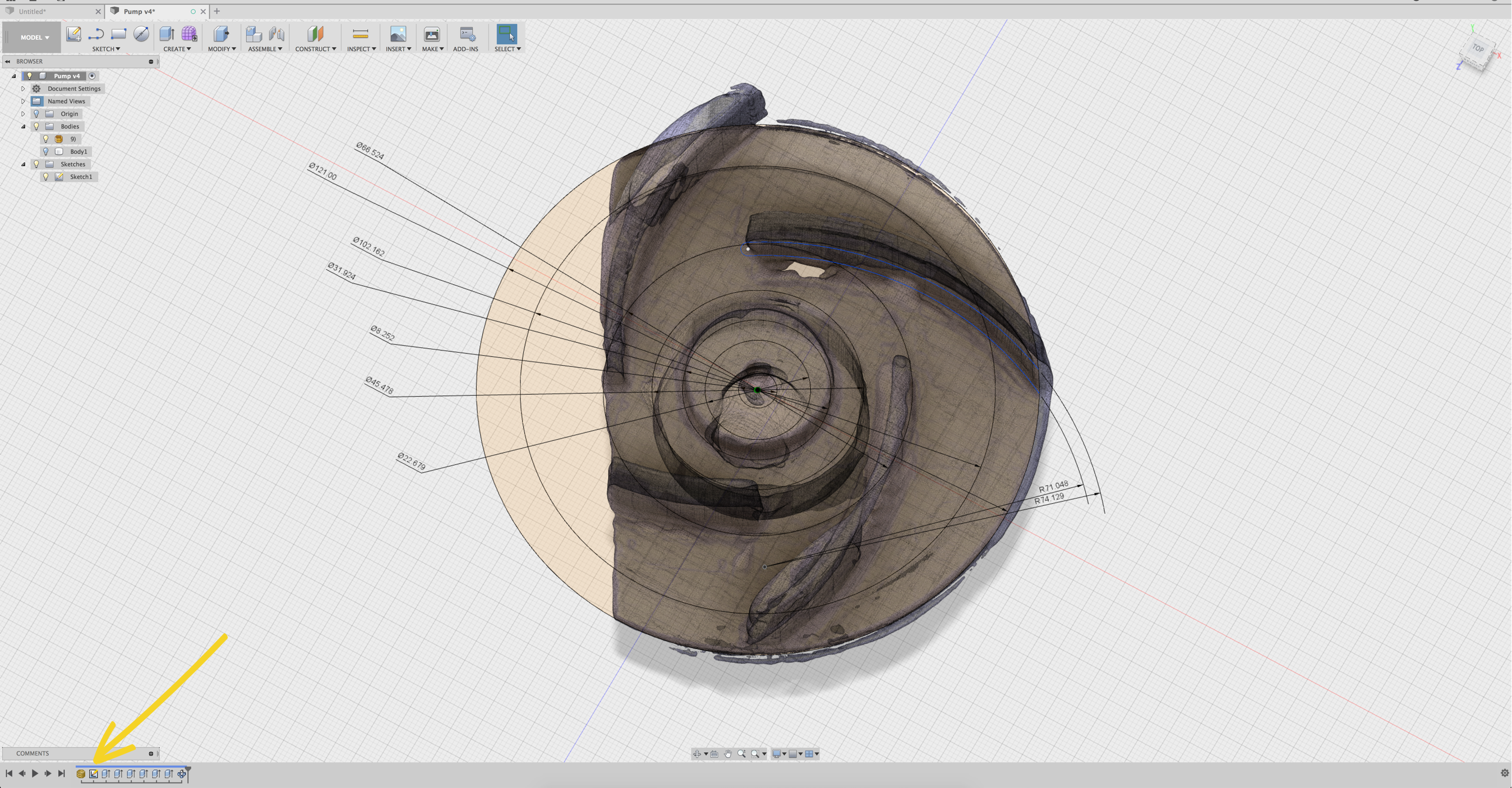Reverse Engineering from a 3D Scan - EORA 3D