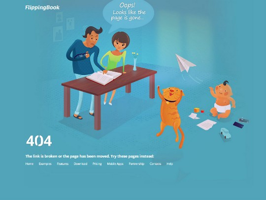 10 great examples of 404 error pages - UX Planet