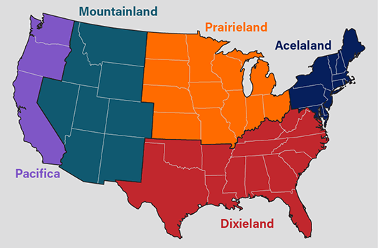 Acelaland, the United States of Europe and the New Hanseatic ...