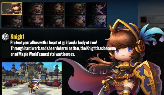 MapleStory 2 high-end Knight PvP depth analysis and PK skills