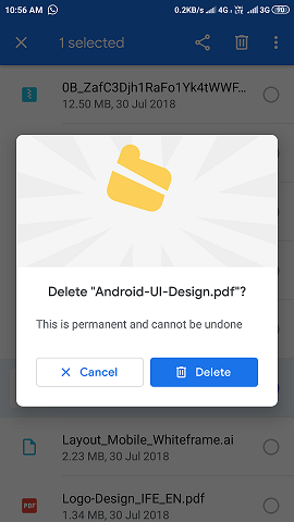 Animated Material Dialog Android By Shreyas Patil Mindorks Medium