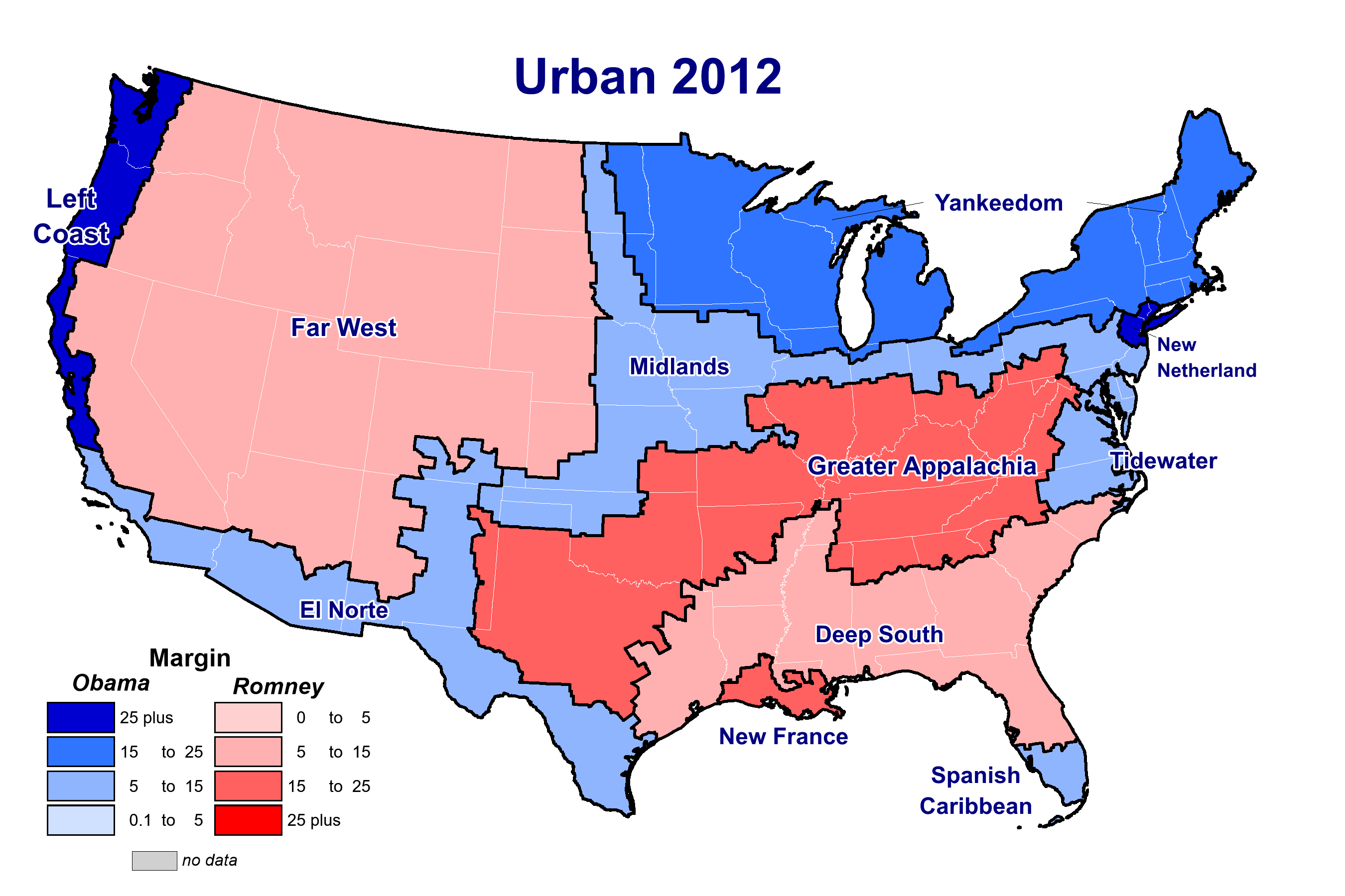 No, the Divide in American Politics Is Not Rural vs  Urban