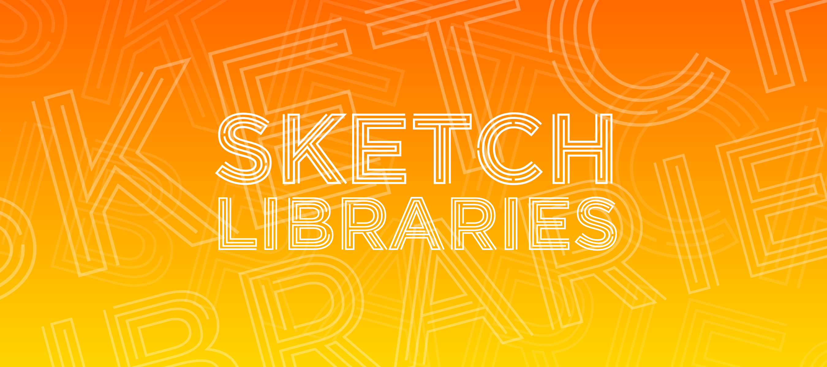 Sketch Libraries: How they work, and the crazy stuff you can