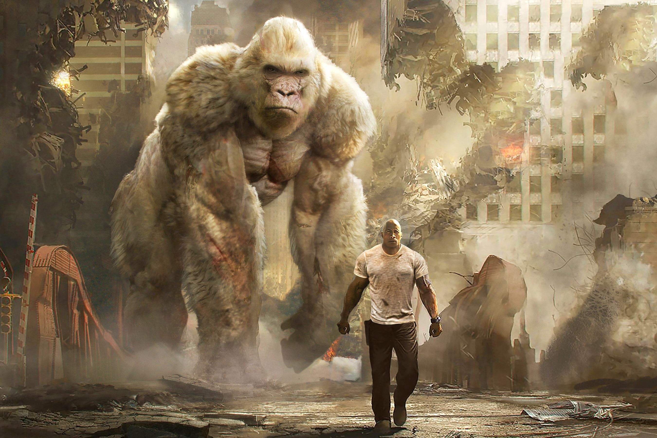 Rampage A Muddled Mess With A Big Gay Heart By Eric Coyote
