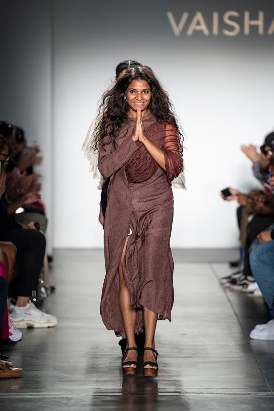 Vaishali S Returned To The New York Fashion Week Stage As A Council Of Aspiring American Fashion Designers Caafd Selected Designer