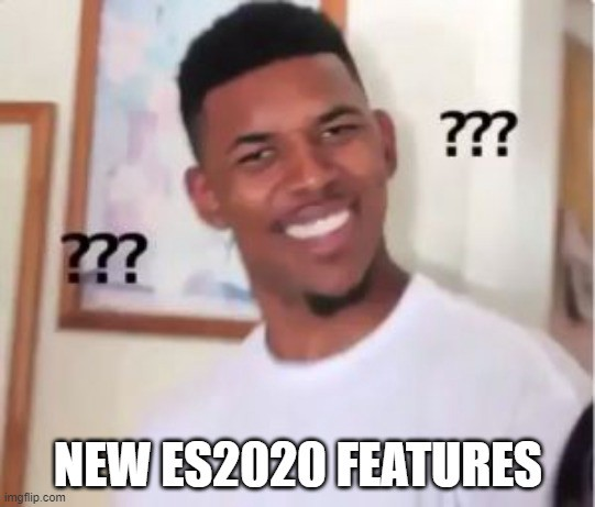 null and ES2020: Optional Chaining and Null Coalescing