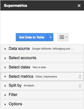 Semi) Automating A/B Testing with Google Sheets and Supermetrics