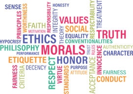 Various ethics terms