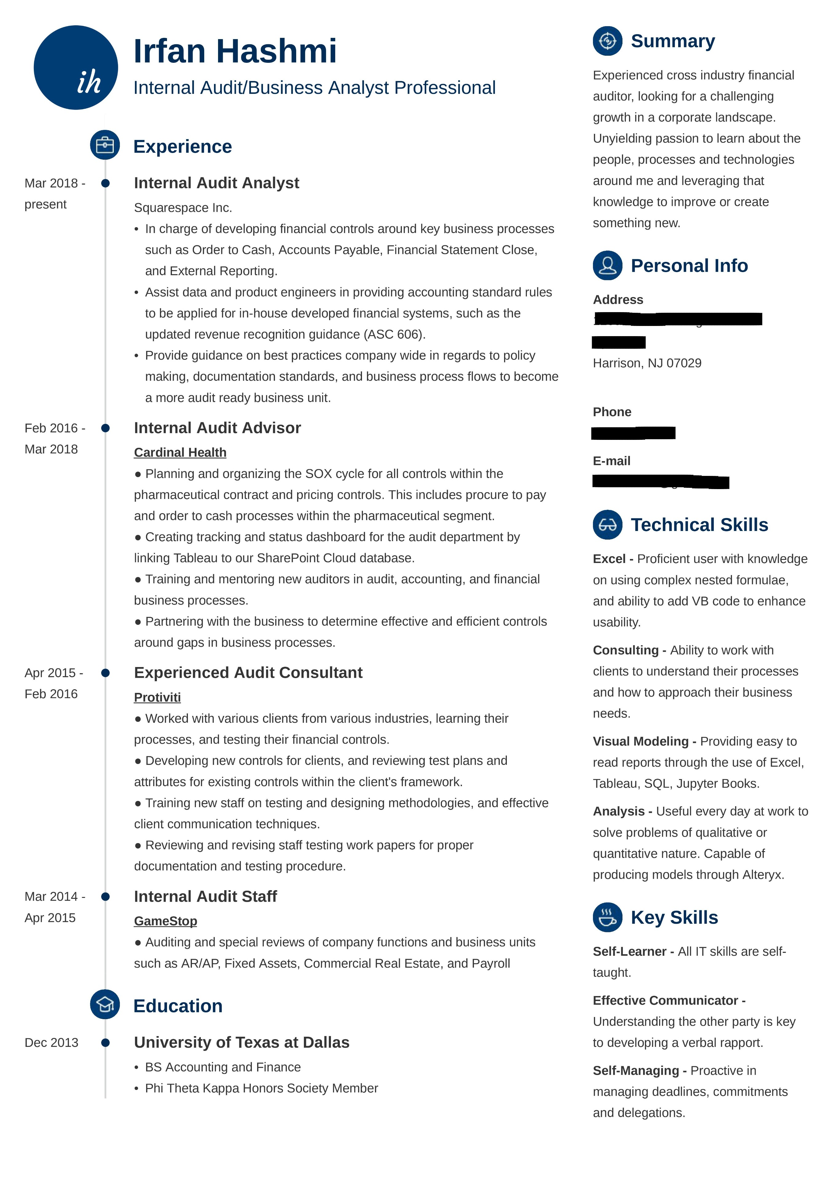 how to redesign a resume for a career change irfan