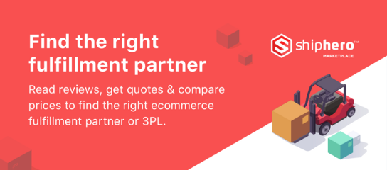 Why we launched an ecommerce fulfillment marketplace