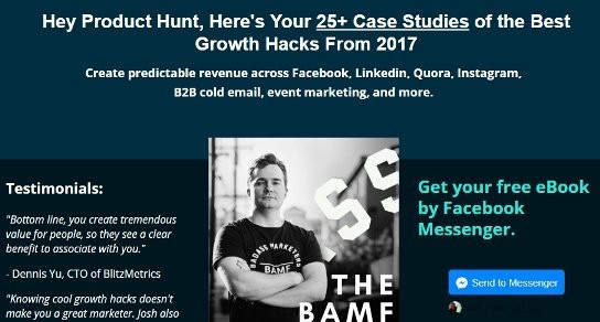 Case Study] The Growth Hack Used To Launch 'The BAMF Bible'