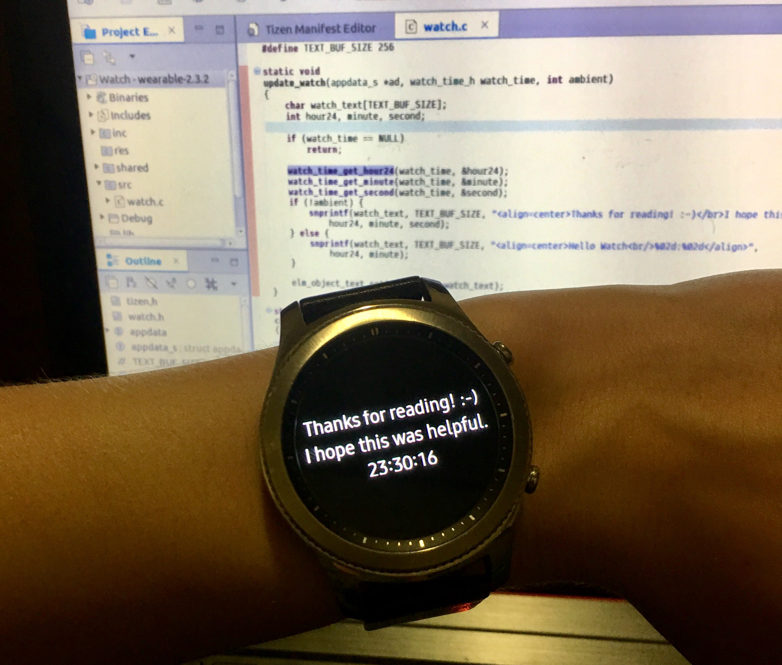 Making Your First Samsung Gear S3 App - Claire Nord - Medium