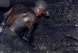 It is so hot in the shafts that many miners go naked.