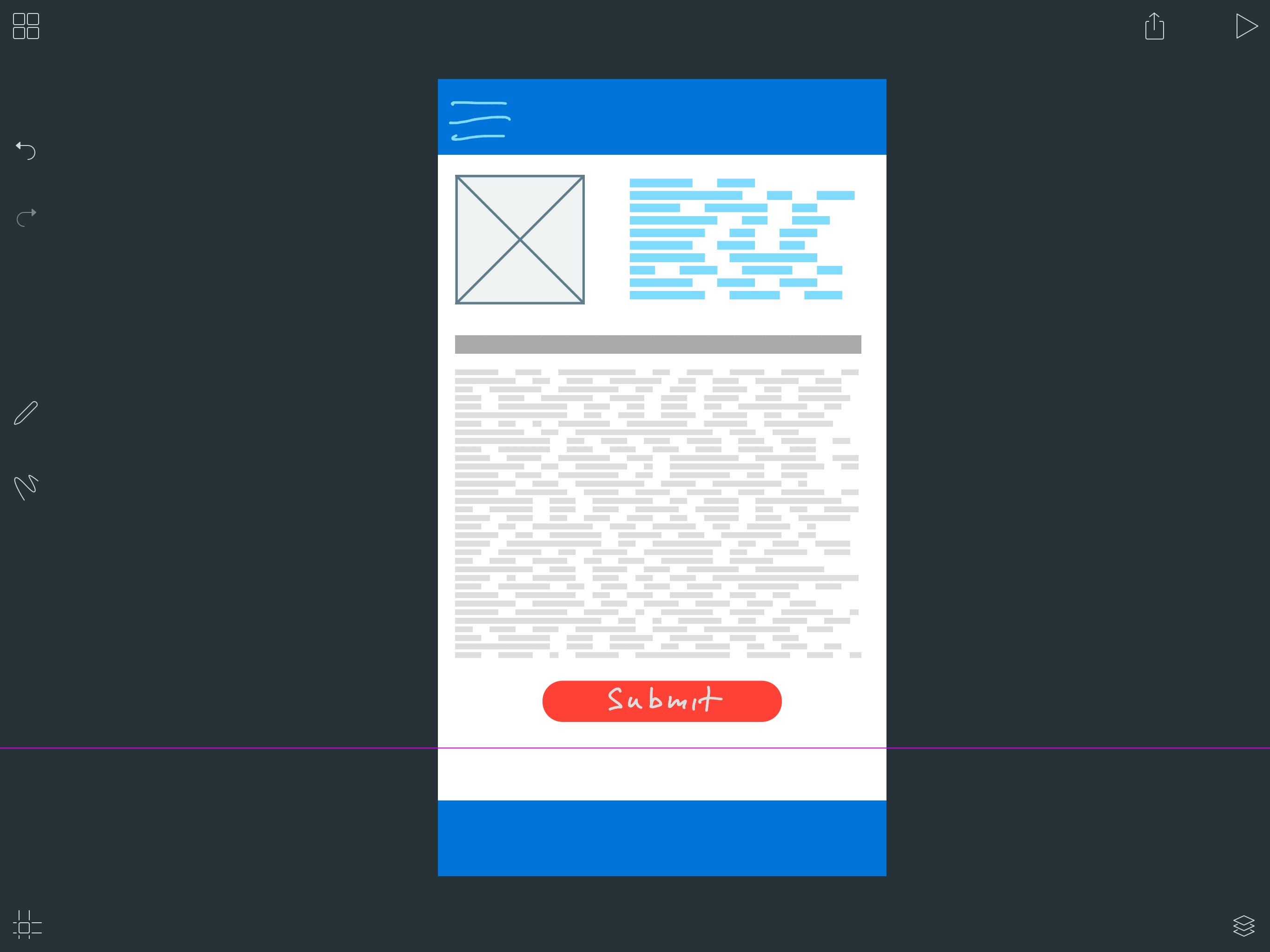 Wireframing on iPad done right: Iterate beta is now available