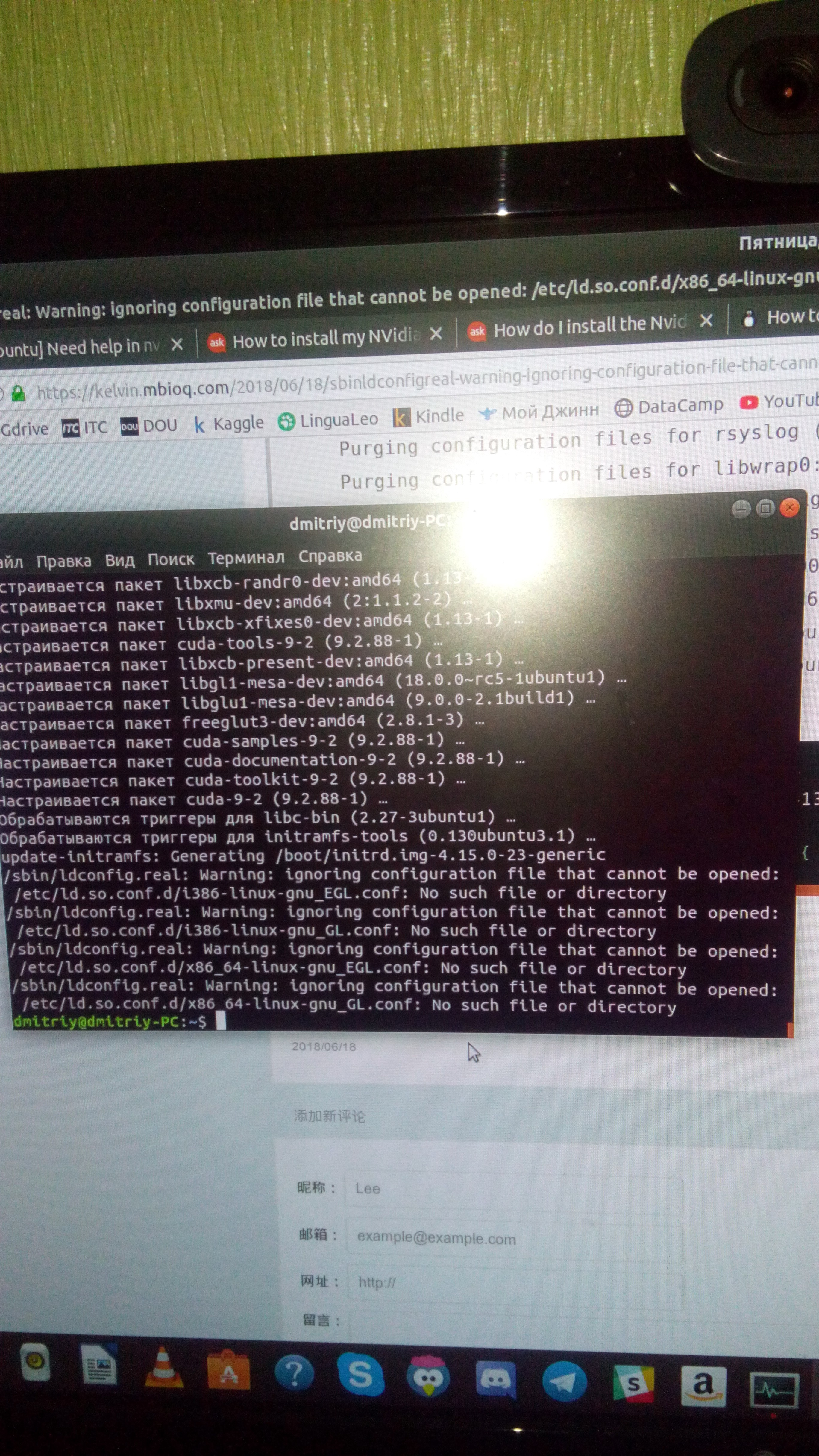 Install Tensorflow 1 8 0 with GPU from source on Ubuntu