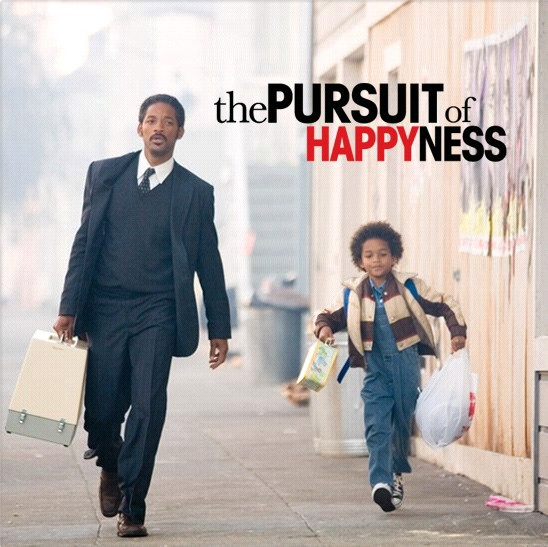 Pursuing Happiness is a Choice; From the movie Pursuit of Happiness | by  Kam Kelson | Medium