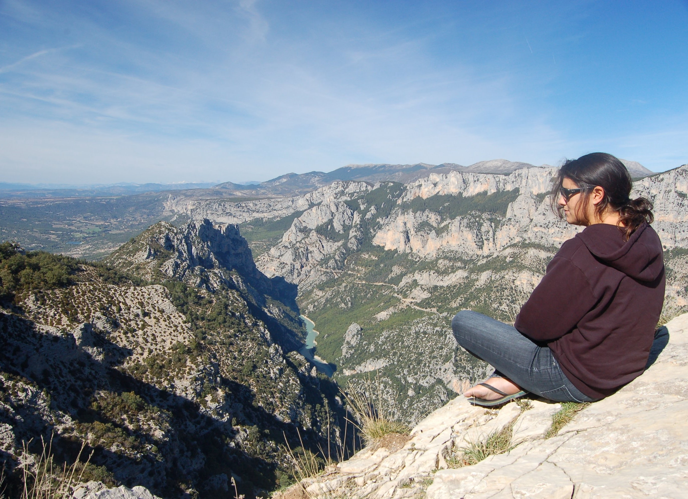 Overlooking canyon—Shaking Hands with My Anxiety—Amy Marley