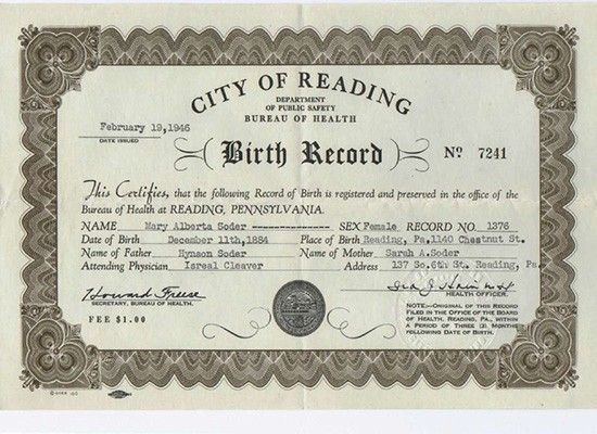 Fake Birth Certificate Online How You Can Get It