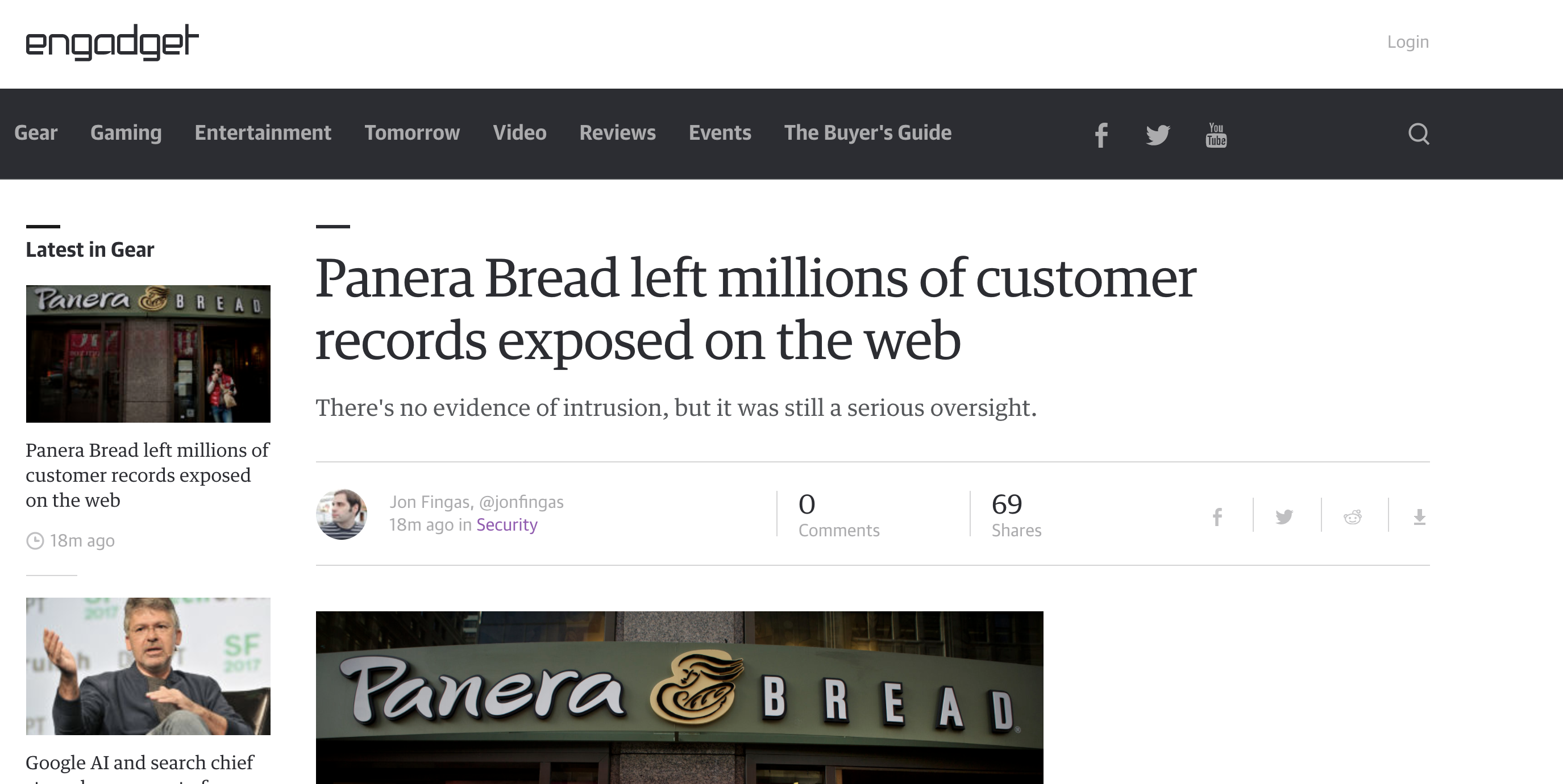No, Panera Bread Doesn't Take Security Seriously - PB - Medium