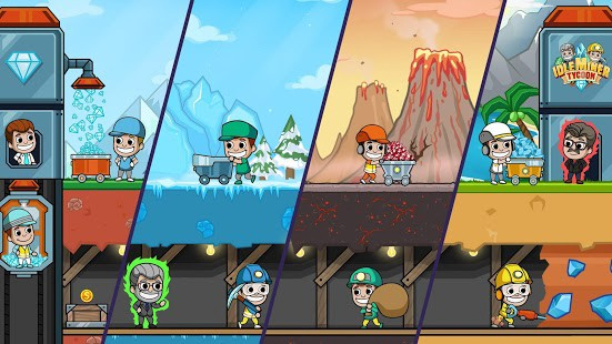 Image result for Idle Miner Tycoon – Mine Manager Simulator MOD, Unlimited Money