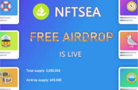 NFTSEA Airdrop: 100% Claim NFTSEA Airdrop today for free