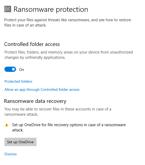 Controlled Folder Access bypass for Windows 10 1809
