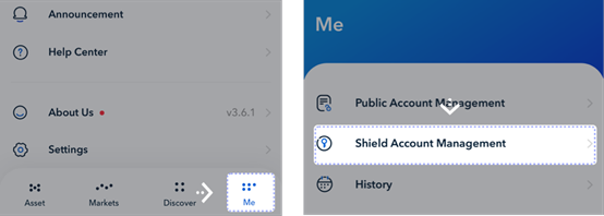 How to Create a Shielded Account in Justwrapper