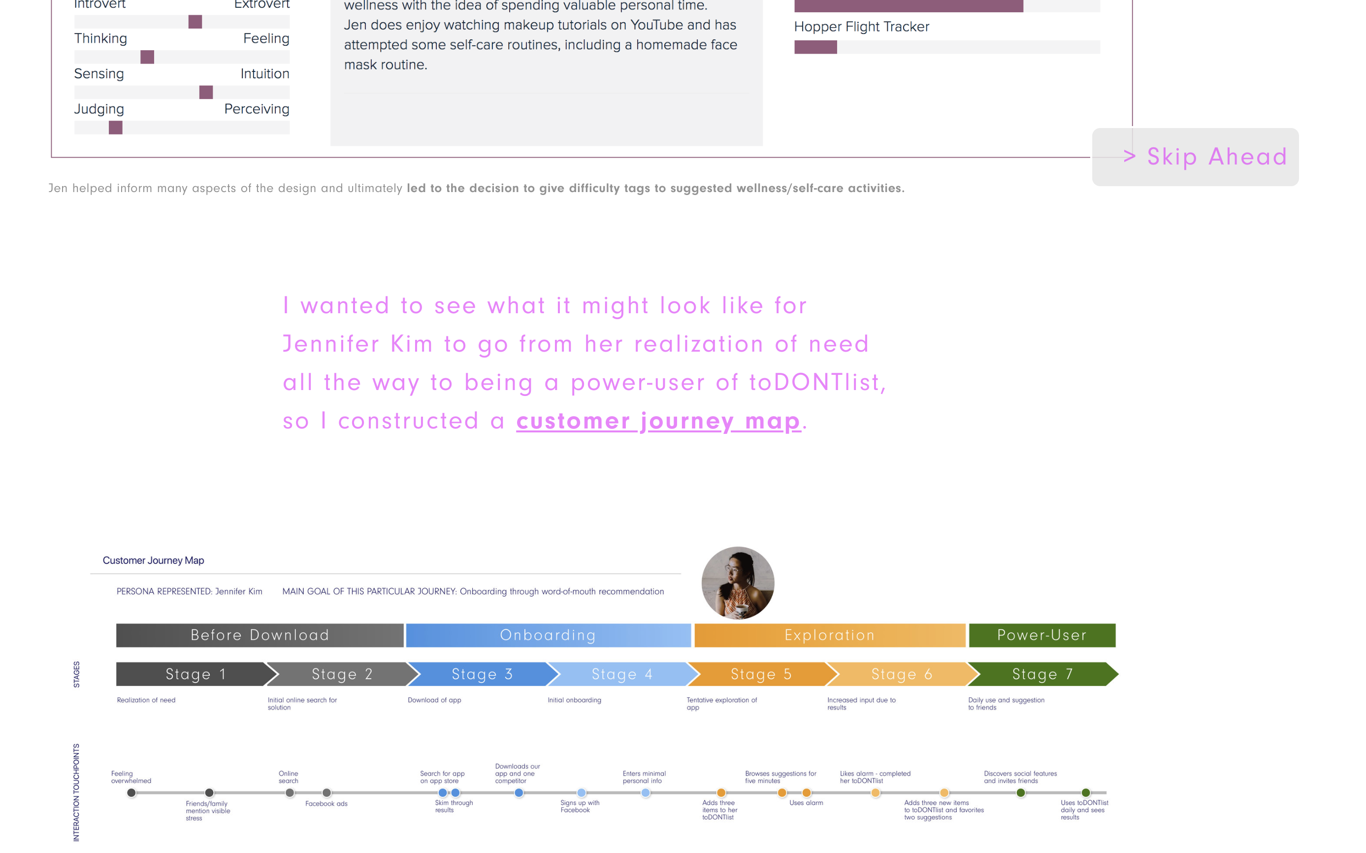 The importance of flow in a UX portfolio - UX Collective