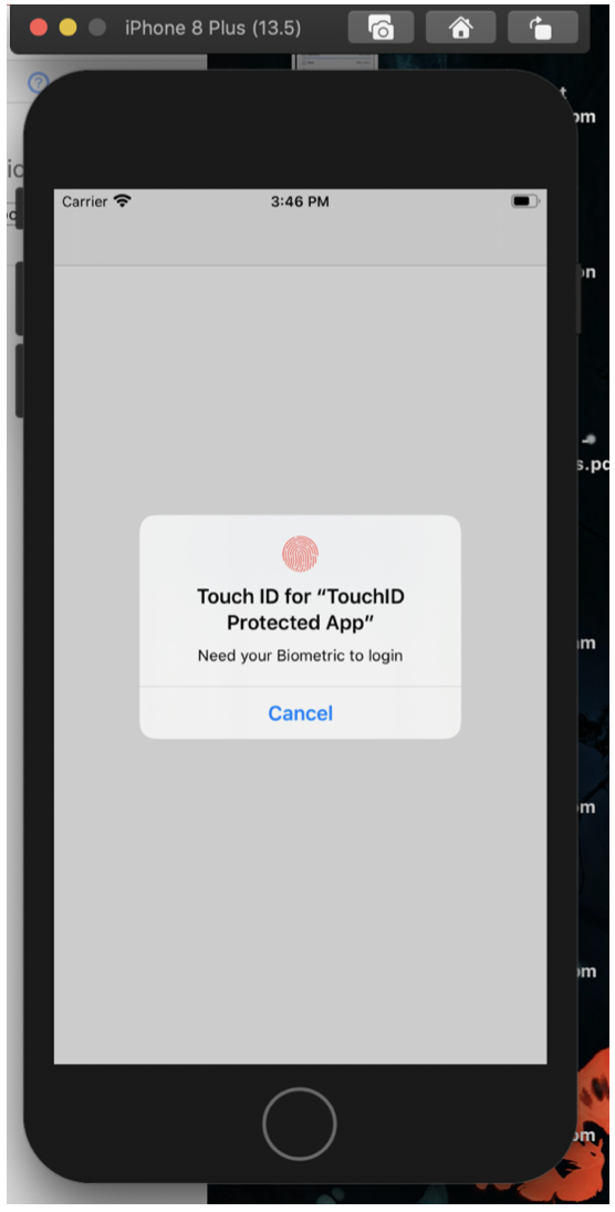 Xcode: How to Integrate Touch ID/ Face ID authentication to your App in 5 Steps