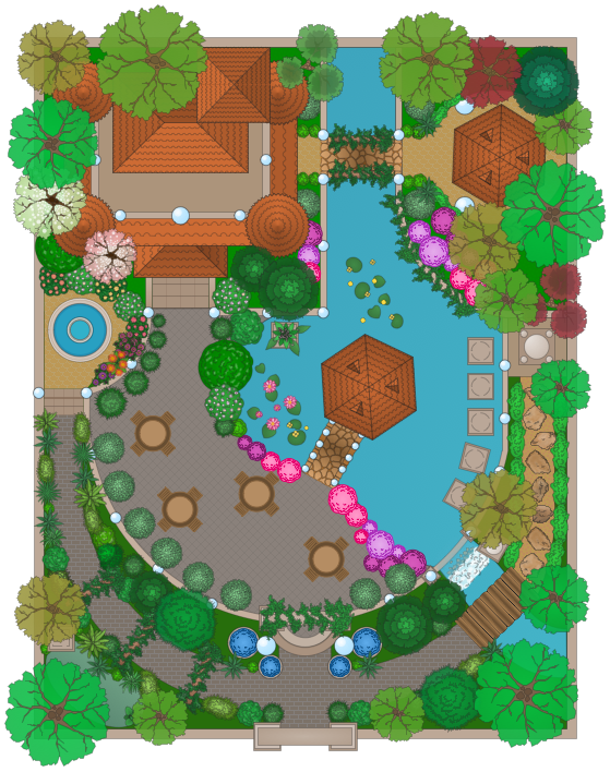 A Look Under The Hood How To Draw Landscape Design Plan