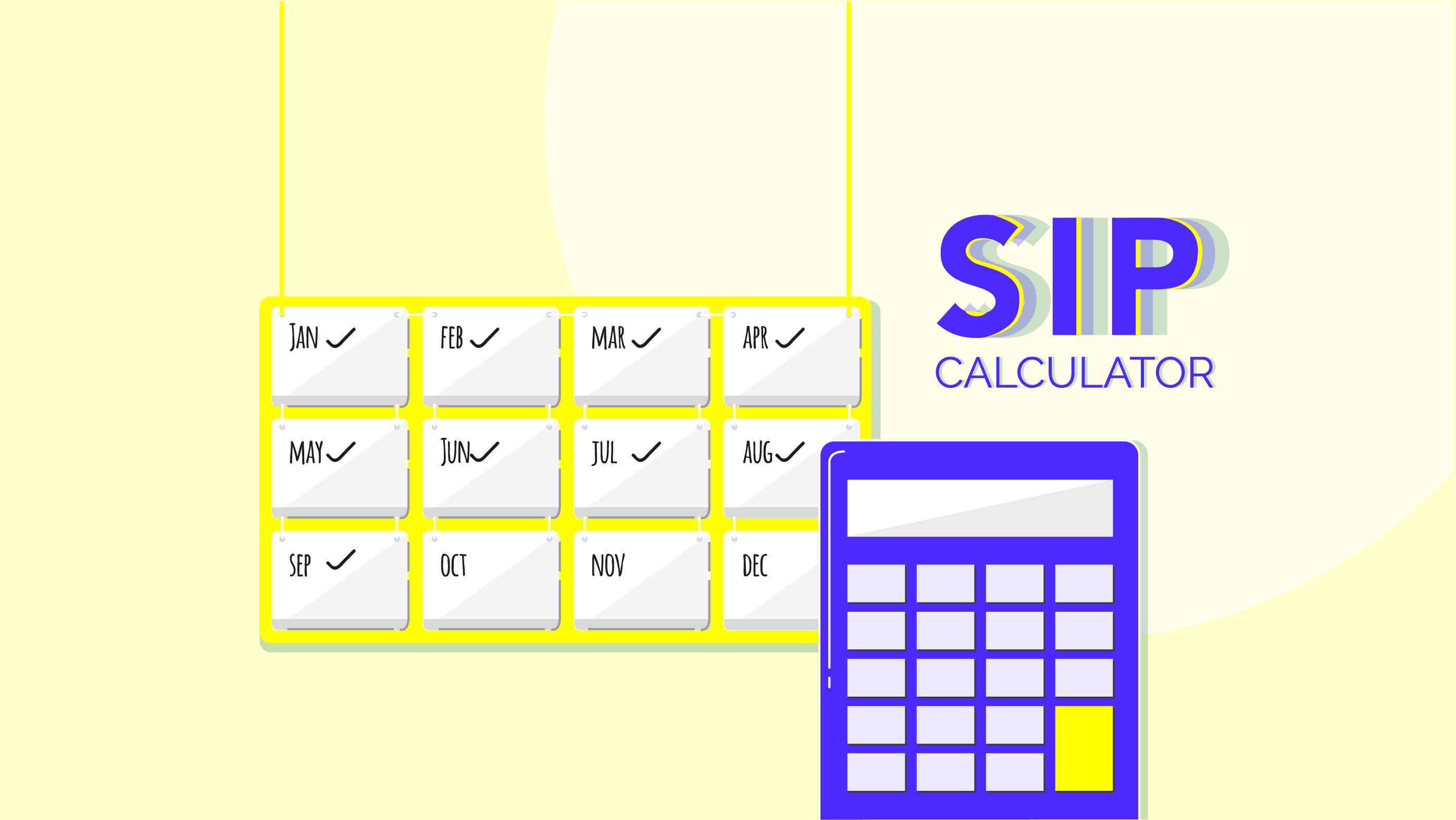 How to use SIP calculator