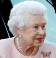 The Queen wearing the butterfly brooch, a gift received in 1947
