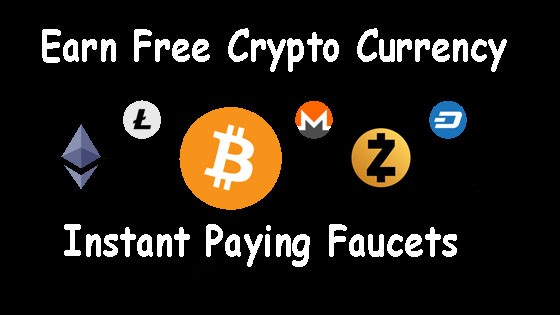 Earn Free CryptoCurrency Instant Payout Faucets PTCSites Cloud And ...