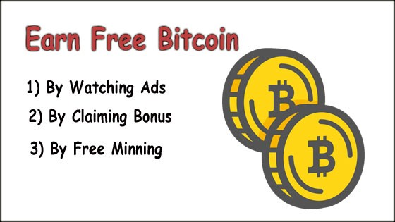 Earn Free Bitcoin Without Investment - Earn Free Bitcoin