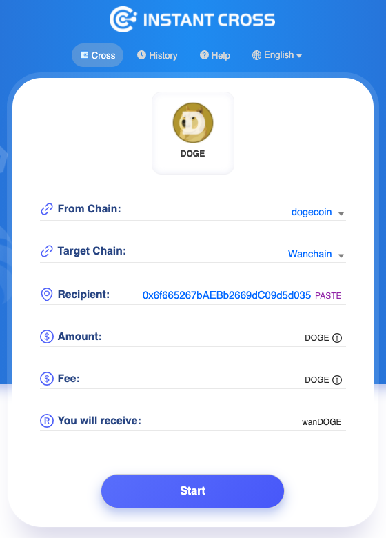1*03lua uJfVnTTcRTbHsr w The first one's STILL on us! $WAN cross-chain faucet now supports $DOGE!