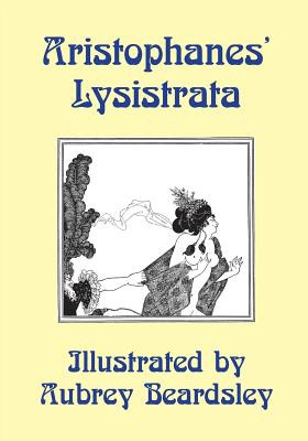 Book cover: Aristophanes' Lysistrata, illustrated by Aubrey Beardsley