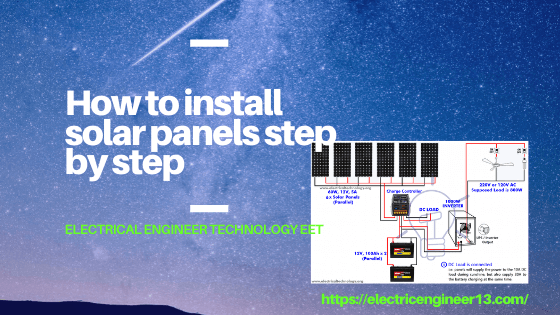 How To Install Solar Panels Step By Eet Medium