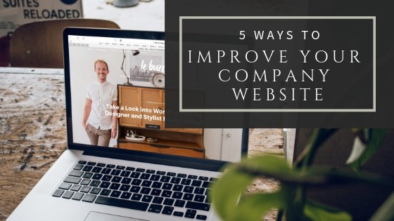 5 ways to improve your website fast
