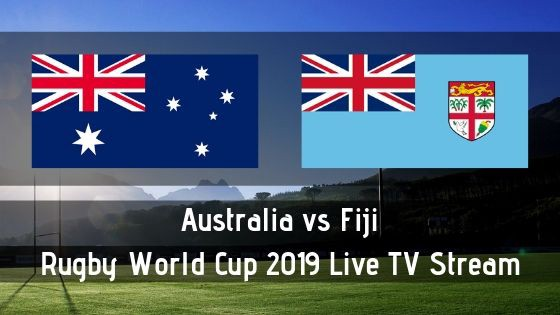 Fiji vs Australia Rugby World Cup 2019 Live