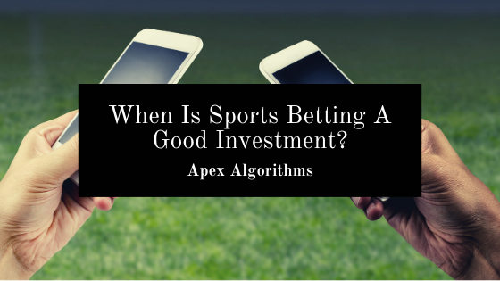 Invest in sports betting how does sport betting work